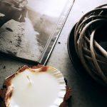 Świeca Seszele w muszli z wosku sojowego