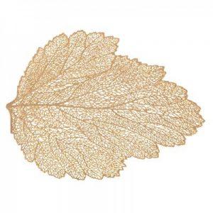 Podkładka mata na stół złoty liść