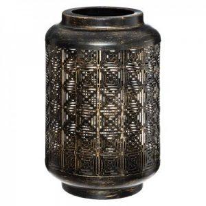 Metalowa rustykalna lampa stołowa