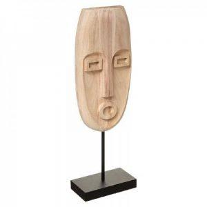 Dekoracyjna rzeźba z drewna paulownia