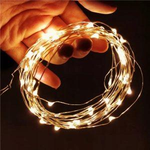 Światełka dekoracyjne LED na baterie 2m