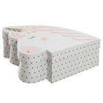 Zestaw pudełek do przechowywania – jednorożec x2