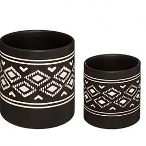 Zestaw osłonek ceramicznych Safari x2