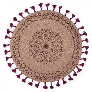 Podkładka na stół z frędzlami w stylu boho