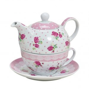 Zestaw do parzenia herbaty z porcelany x3