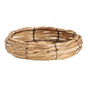 Naturalna misa/koszyk z trawy morskiej
