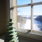 Wazon dekoracyjny Dunum zielony