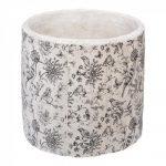Zestaw osłonek ceramicznych x3 ręcznie malowane