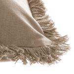 Dekoracyjna podłużna poduszka z frędzlami 50×30