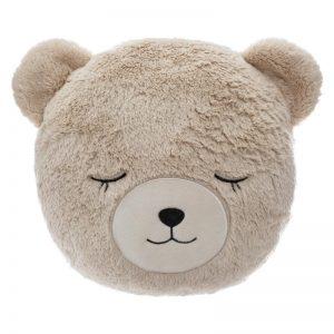 Pluszowa poduszka dekoracyjna niedźwiadek