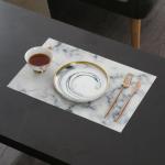 Marmurowa podkładka pod talerze