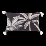 Poduszka dekoracyjna z motywem palmy 50×30