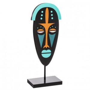 Nowoczesna ozdoba w kształcie maski etnicznej