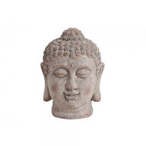 Dekoracyjna figurka w kształcie głowy Buddy
