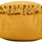Dekoracyjna podłużna poduszka Salma z frędzlami 50×30