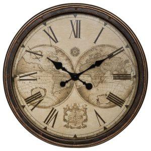 """Zegar w stylu kolonialnym """"Tomy"""""""