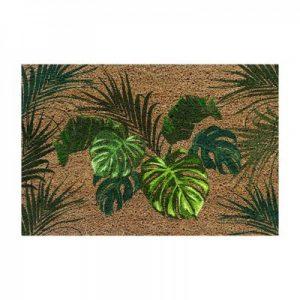 Wycieraczka wejściowa z kokosa Monstera 40×60 cm