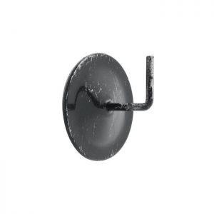 Metalowe haczyki samoprzylepne imitujące marmur 2 szt